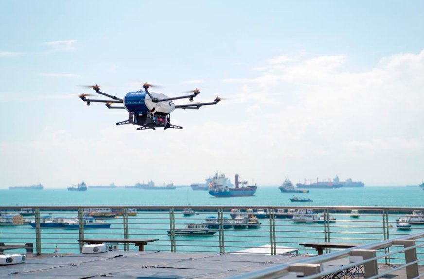 Airbus' Skyways drone goes to sea – Air & Cosmos – International