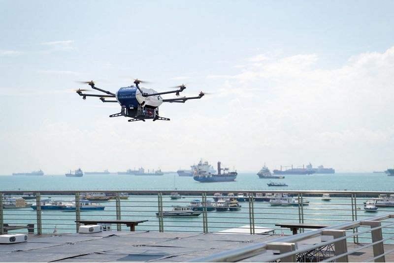 Airbus réalise une livraison par drone – Apps&Drones