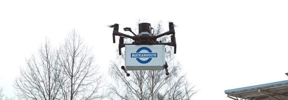 Helsinki accueille un projet de livraison par drones – Apps&Drones