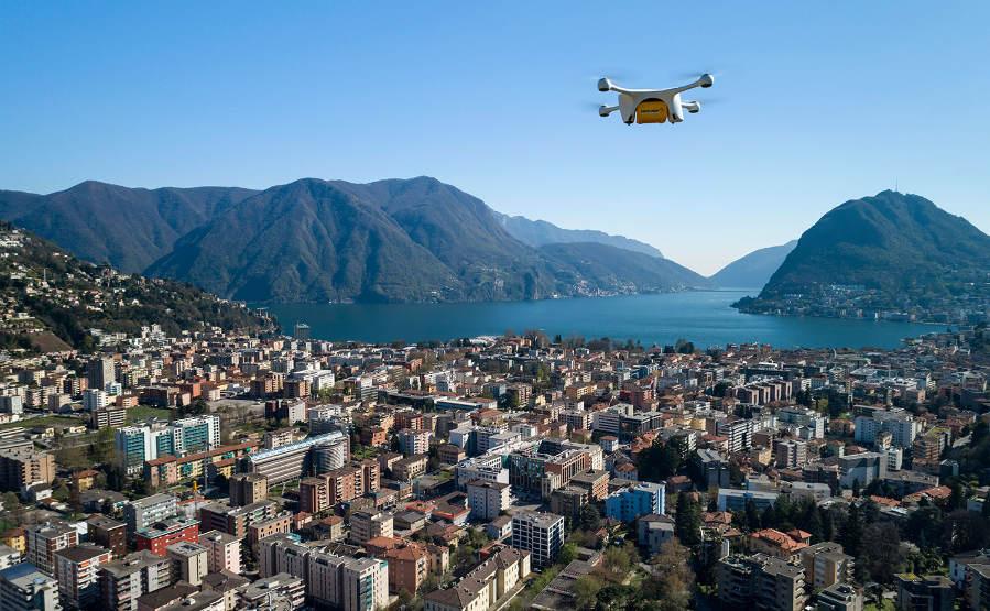 Suisse : reprise des livraisons par drones – Air&Cosmos