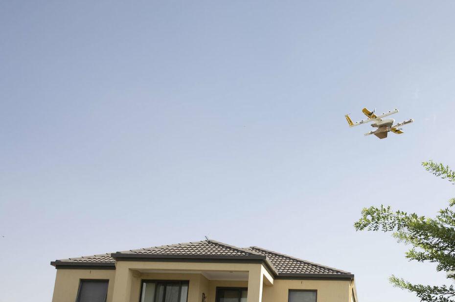 Les drones de Google ont l'autorisation de livrer des colis dans les villes américaines