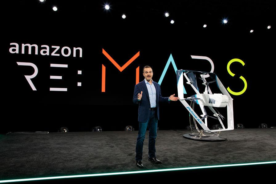 [Vidéo] Amazon présente un drone de livraison au design hybride – L'Usine Aéro