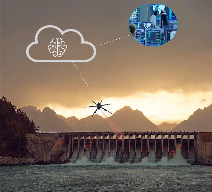 Des drones pour l'inspection de barrages brésiliens – Apps&Drones
