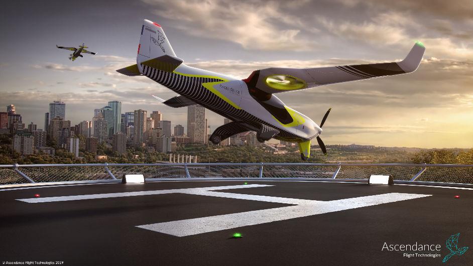 Ascendance Flight Technologies imagine un nouveau type de transport aérien – Apps&Drones
