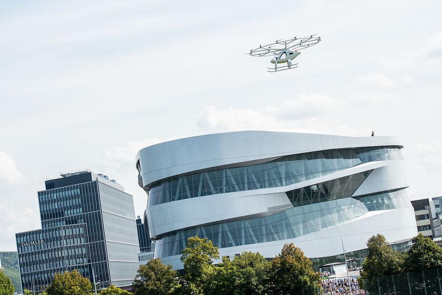 [Vidéo] Volocopter teste sa navette volante pour la première fois dans une ville européenne – L'Usine Aéro